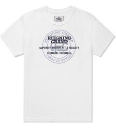 Reigning Champ White RC-1028-2 Super Graphic Print Superior T-Shirt Picutre