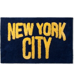 SECOND LAB Navy x Yellow NYC Rug Picutre