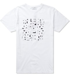 Soulland White Geometrix T-Shirt  Picutre
