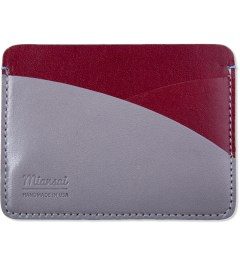 Miansai Red/Grey Cardholder  Picutre