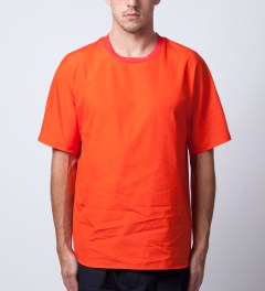3.1 Phillip Lim Coral New Dolman Sleeve T-Shirt Model Picutre