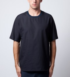 3.1 Phillip Lim Midnight New Dolman Sleeve T-Shirt Model Picutre