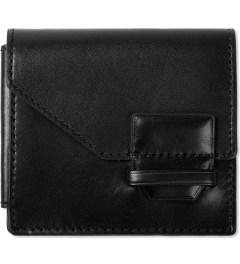 3.1 Phillip Lim Black Fold Tab Wallet  Picutre