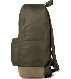 A.P.C. Khaki Backpack   Model Picutre