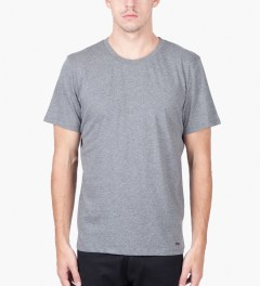 A.P.C. Grey Logo T-Shirt   Model Picutre