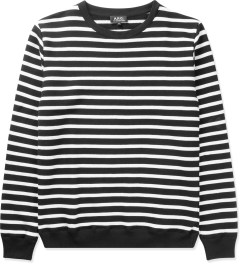 A.P.C. Black Rugby Sweater Picutre