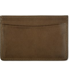 A.P.C. Hazelnut Card Case  Model Picutre