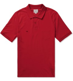 Band of Outsiders Tango Red Trapped Pocket Polo Picutre