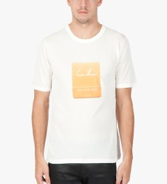 Band of Outsiders White S/S Chateau Marmont T-Shirt  Model Picutre