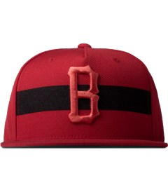 Black Scale Red Streak Strap Back Cap Picutre