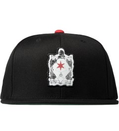 Black Scale Black Six Pointed Knight Snap back Cap Picutre