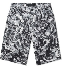 Black Scale Black Burke Short  Picutre