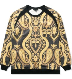 Black Scale Black Esherick Sweater Picutre
