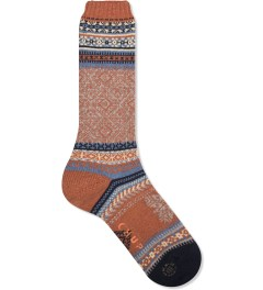 CHUP Orange Lopi Sock  Picutre
