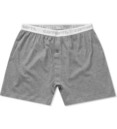 Carhartt WORK IN PROGRESS Heather Grey Trunk Short   Picutre