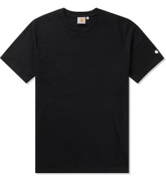 Carhartt WORK IN PROGRESS Black S/S Basic T-Shirt Picutre