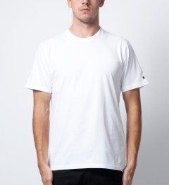 Carhartt WORK IN PROGRESS White S/S Basic T-Shirt  Model Picutre