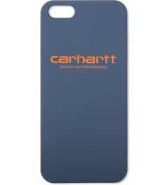 Carhartt WORK IN PROGRESS Deep Night Script Logo iPhone 5 Hardcase   Picutre