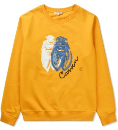 Carven Orange VIF Cricket Molleton Sweater Picutre