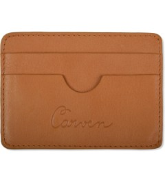 Carven Orange Full Grain Leather Pocket Picutre