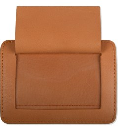 Carven Orange Full Grain Leather Pocket Model Picutre