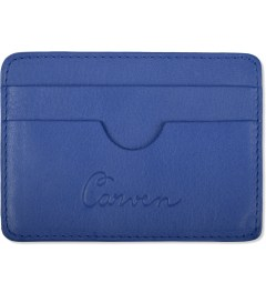 Carven Royal Blue Full Grain Leather Pocket  Picutre