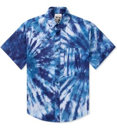 Craig Green Blue Tie-dye Short SL Shirt Picutre