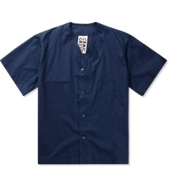 Craig Green Navy Cotton Baseball Shirt   Picutre