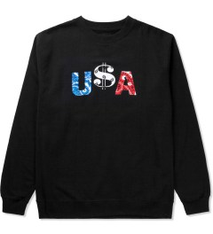 Deadline Black U$A Sweater  Picutre