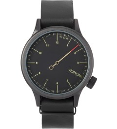 KOMONO Black The One Magnus Watch Picutre