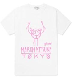 Kitsuné Tee White Andre T-Shirt   Picutre