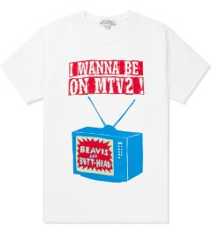 Kitsuné Tee White Carine Brancowitz T-Shirt   Picutre