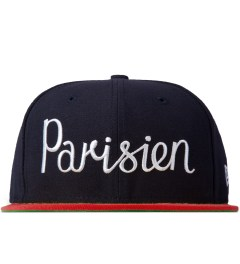 Maison Kitsune Navy Red 59 Fifty New Era Cap Picutre