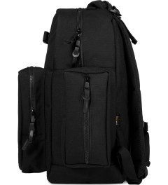 Carhartt WORK IN PROGRESS Black Lewis Backpack  Model Picutre