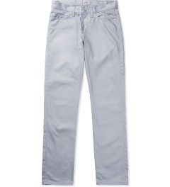 Naked & Famous Griffin Grey Selvedge Chino Weirdguy Jeans  Picutre
