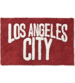 SECOND LAB Red Los Angeles City Rug Picutre
