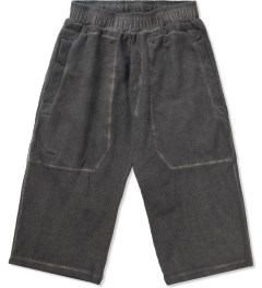 SILENT Damir Doma Washed Out Grey Pixel Sweatshort  Picutre