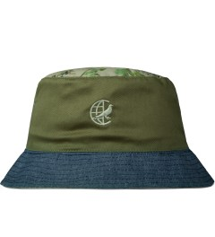 Staple Khaki Marion Bucket Hat Model Picutre