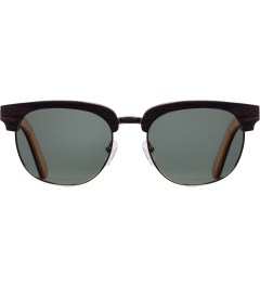 Shwood G15 Polarized Ebony Gold Eugene Sunglasses Picutre