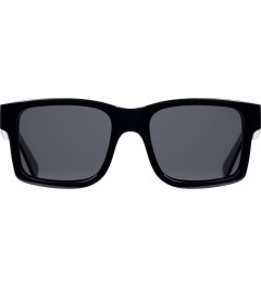 Shwood Grey Polarized Black/Maple Burl Haystack Sunglasses     Picutre