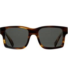 Shwood Grey Polarized Tortoise Shell/Mahogany Burl Haystack Sunglasses   Picutre