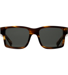 Shwood Grey Polarized Tortoise Shell/Maple Burl Haystack Sunglasses    Picutre
