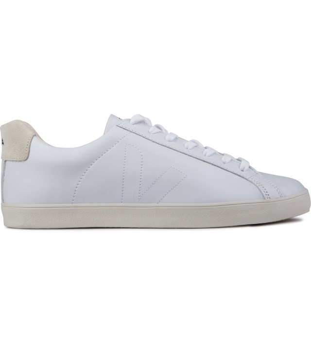 Extra White Esplar Leather Shoes