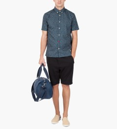 Weekend Offender Navy Chepstow Shirt Model Picutre