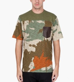 Black Scale Olive Morgan T-Shirt  Model Picutre