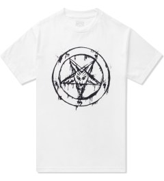 Black Scale White 666 Splatter T-Shirt  Picutre