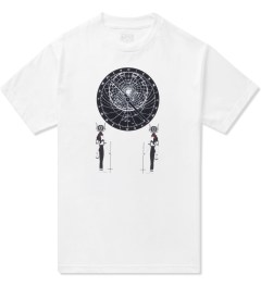 Black Scale White Astrolabe T-Shirt  Picutre