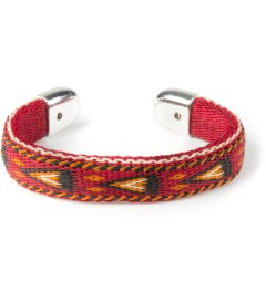 Chamula Red Bendable Horse Hair Bracelet  Picutre