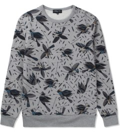 Commune De Paris Marl Grey Birdy Sweater Picutre