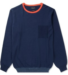 Commune De Paris Navy Jaures Sweater Picutre